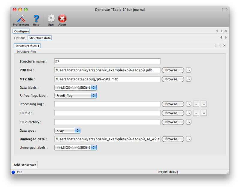 Generating publication content with phenix table_one
